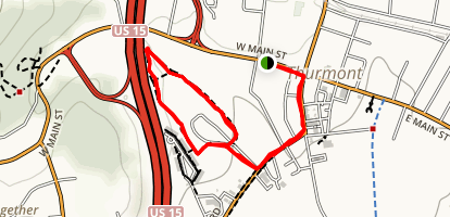 Thurmont Park Fitness Tral Map