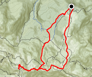 Vogel Ski Hotel To Vogel Summit Map