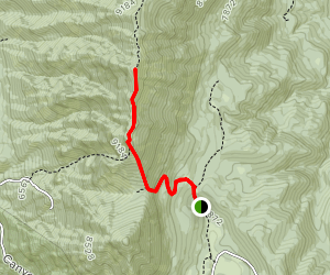 Dry Mountain Trail Map