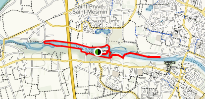 Loiret River Trail Map