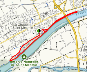The Balconies of the Loire River Trail Map
