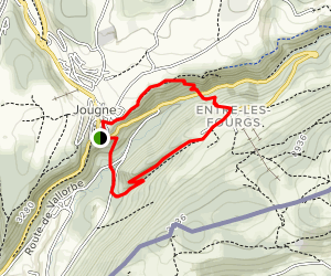 By the Forest Loop Map