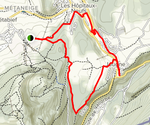 Mount Ramey Bike Loop Map
