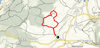 Alp View Loop Map
