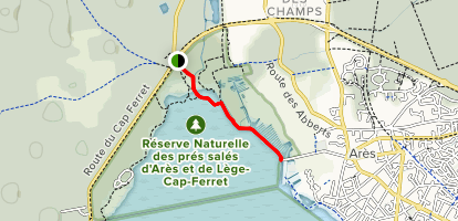 Salt Bassin Trail Map
