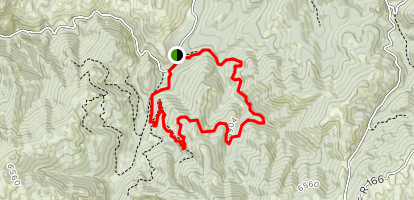 Trail 662 Map
