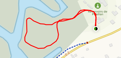 Point of View Trail Map