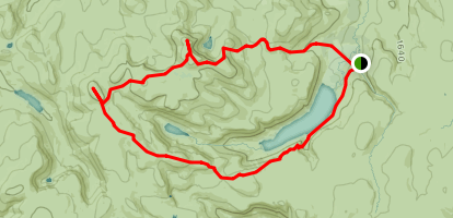 Lochnagar Munro's 55, 56, 57 and 58 Map