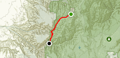 North Fork Walla Walla Trail Map
