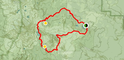 Bears In Oregon Map.Broken Top Loop Trail Oregon Alltrails