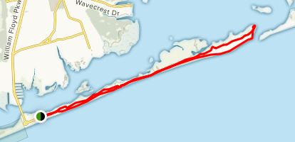 Smith Point Fire Island Map