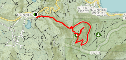 on donner ski ranch trail map