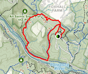 Upper Glen Artney Alternate Loop Map