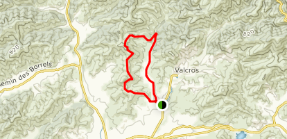 Circuit 2 Valley of the Goat Trail  Map