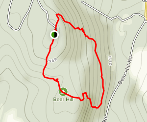 Bear Hill Trail Map