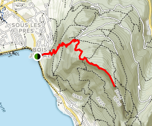 Mount Veyrier Map