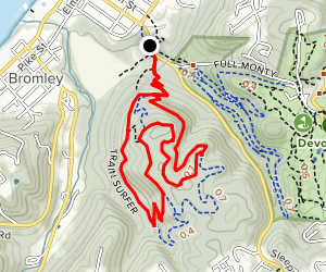 Incinerator and Bates-Coombs and Train Surfer Loop Map