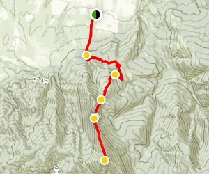 Mount Ellis Trail Map