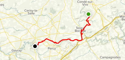 The Abbeys Route: Stage 3 Map