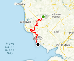 The Abbeys Route: Stage 5 Map