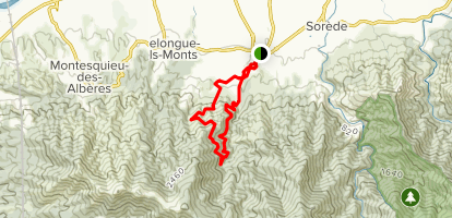 The 2 Fountains Trail  Map