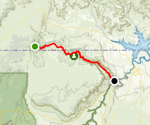 Paria Canyon: Wire Pass Trailhead to Lee's Ferry Map