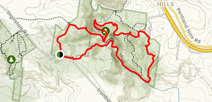 Gorge Circuit Walk and Western Bluff Track  Map