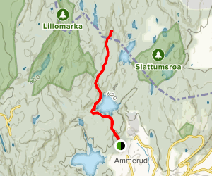 Lilloseter from Ammerud Map