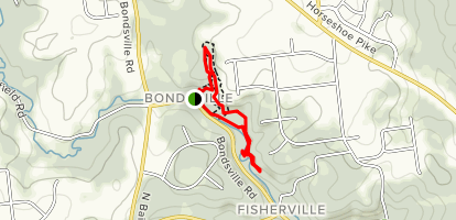 Bondsville Mill Park and Nature Trail Map