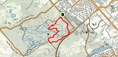 Klondike, North Dogsled and Beartree Trail Loop  Map