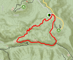 Ed Riggs, Hailstone, and Echo Canyon Trail  Map