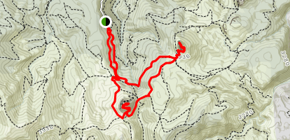 Monte Fumai and Monte Novo San Giovanni Map
