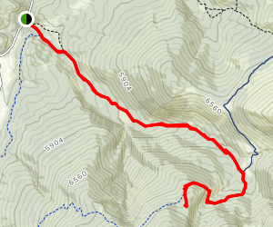 Casey Meadows Trail Map