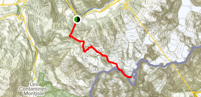 White Moutain Summit Trail  Map