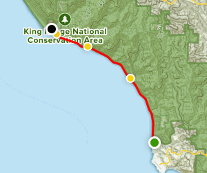 Lost Coast Central Stretch Map