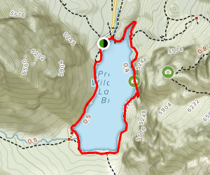 Lake Prags (Lago di Braies) Loop Map