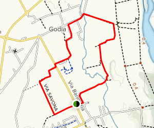 Beivars Godia Loop Map