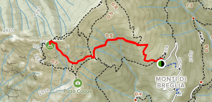 Monte Grona Map