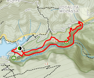 Cellina Gorge Map