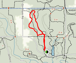 Sand Dunes Trail Map