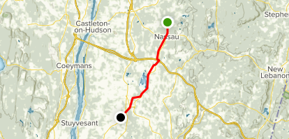 Albany-Hudson Electric Trail: Section 4 Map