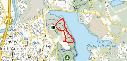 Osgood Hill Loop via Osgood Hill Trail to Summit Trail [PRIVATE PROPERTY] Map