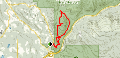 South Tiger Mountain Trail Map