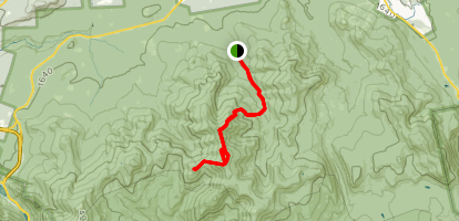 North Twin, South Twin, and Galehead Map