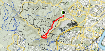 Mount Coot-tha Summit Trail  Map