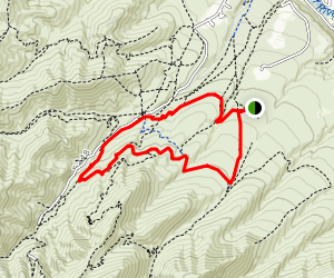 Cusick Creek Loop Trail  Map