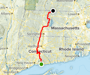 New England Trail (NET) Map