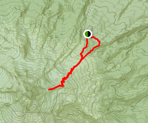 TImberline to Cooper Spur and Tilly Jane Map