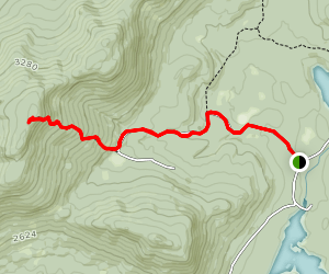 Wakely Mountain Trail Map