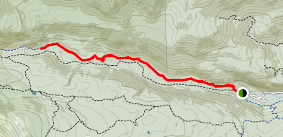 Middle St. Vrain Trail Map